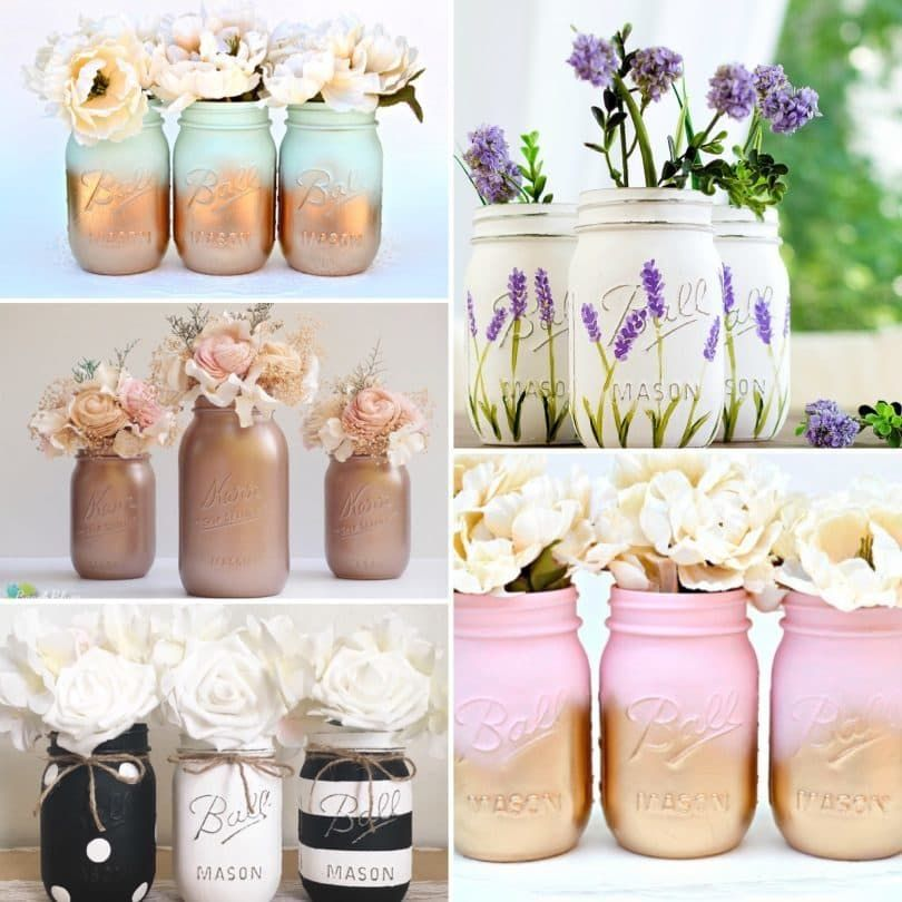 7 Most Elegant - Luxurious - Exquisite Mason Jar Design Ideas ...
