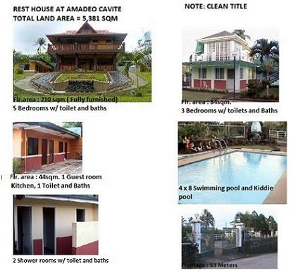 Rest House for RUSH Sale in Amadeo, Cavite | House and Lot | Rest