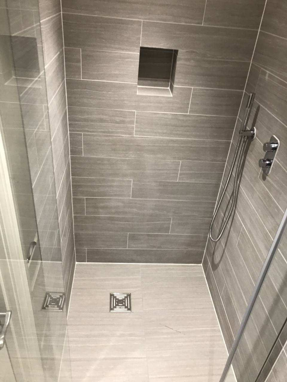 En Suite Shower Room Ideas En Suite Shower Room To Wet Room Marchbank Bathrooms Bathroom Tile Inspiration Modern Bathroom Tile Ensuite Bathroom Designs Ensuite bathroom design ideas