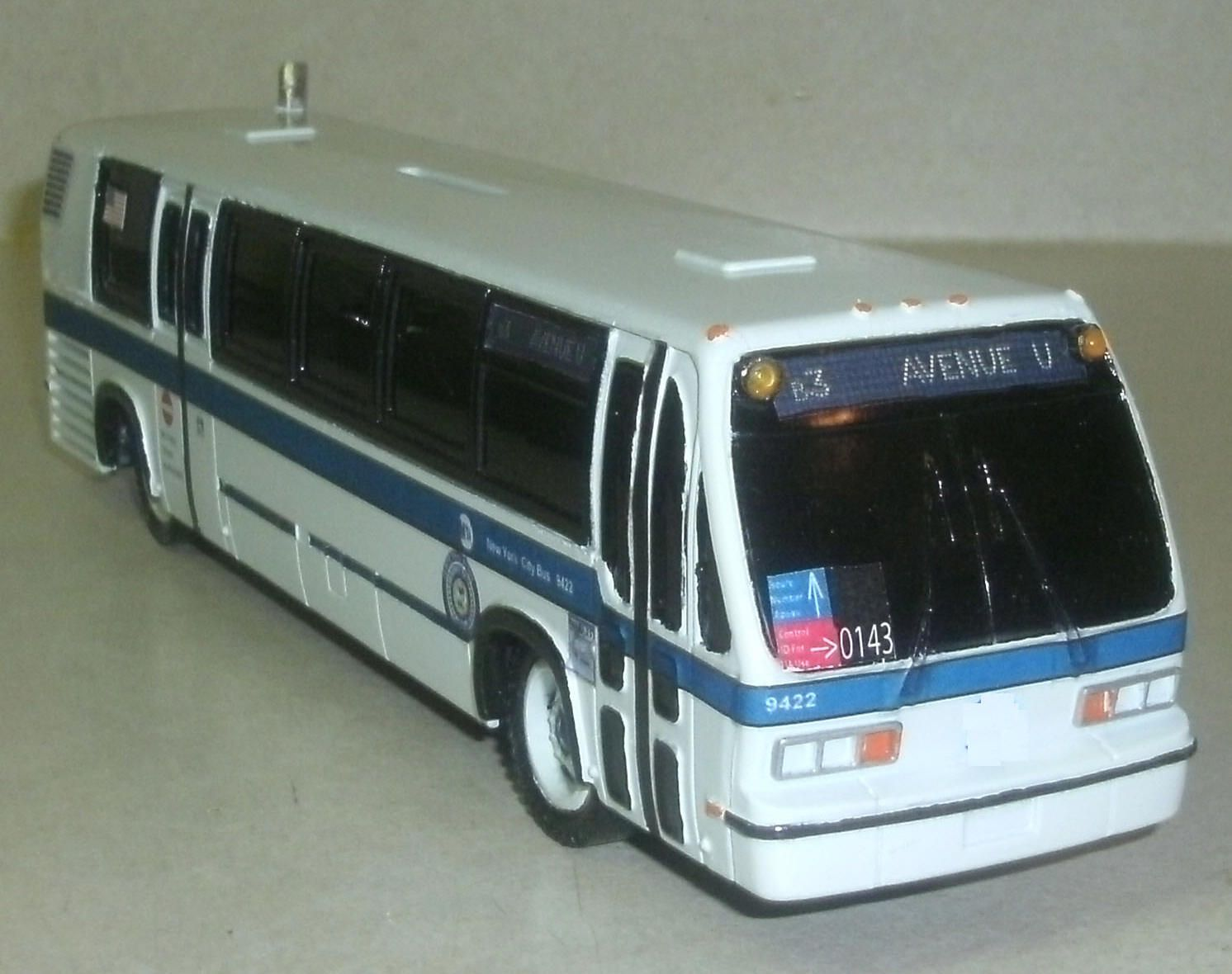 Rts New York City Transit 1 87 Scale Diecast Picclick Com
