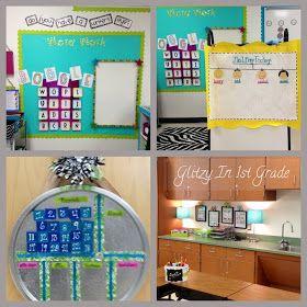Glitzy in st grade classroom decor themes new also best images ideas preschool rh pinterest