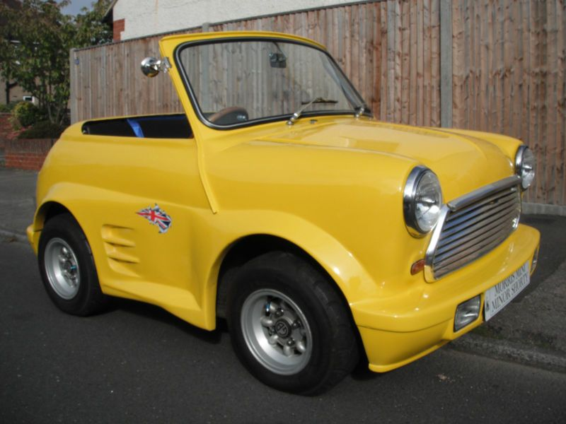 Classic Mini Shorty Shortie Morris Austin Cooper Type Sports Car A Series Classic Mini Mini Trucks Mini Cars