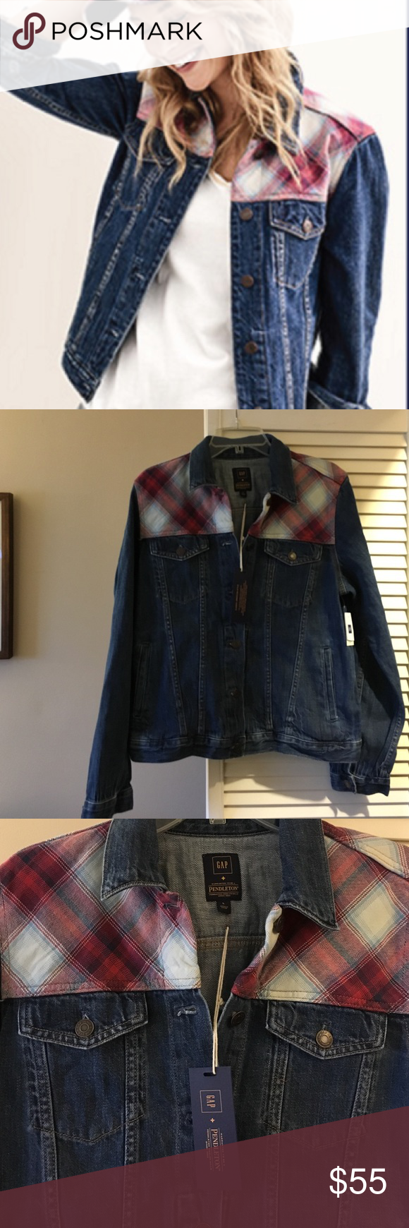 Gap X Pendleton 1969 Icon Denim Jacket Two Iconic Brands Pendleton And Gap Have Come Together For A Singular Denim Jacket Clothes Design Classic Jeans [ 1740 x 580 Pixel ]