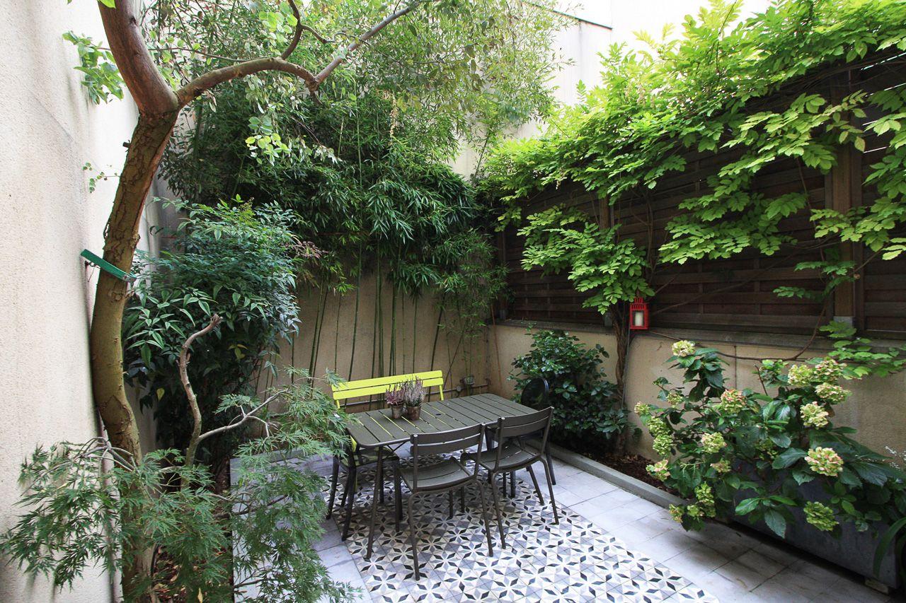 Paris 20e Maison De Ville Avec Cour Jardin Agence EA Paris ...