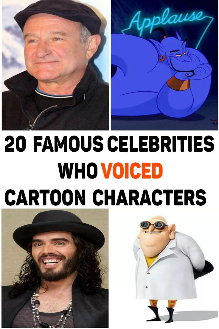 Are you surprised that a certain celebrity has done voice ...