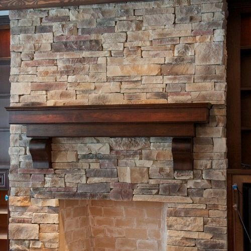 Houzz | Ledge Stone Fireplaces Design Ideas U0026 Remodel Pictures