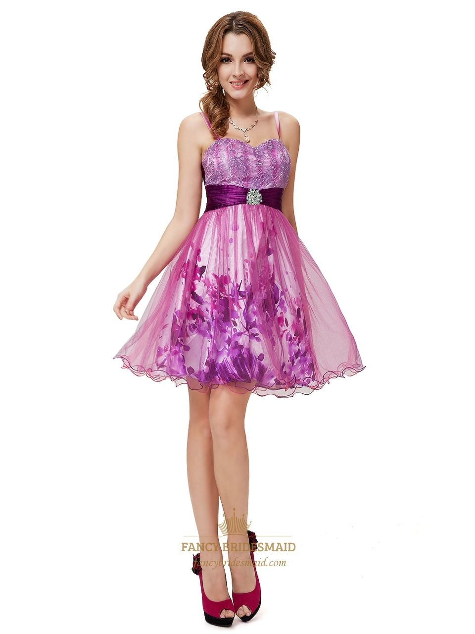 Short Purple Cocktail Dresses For Juniors,Purple Homecoming Dresses ...