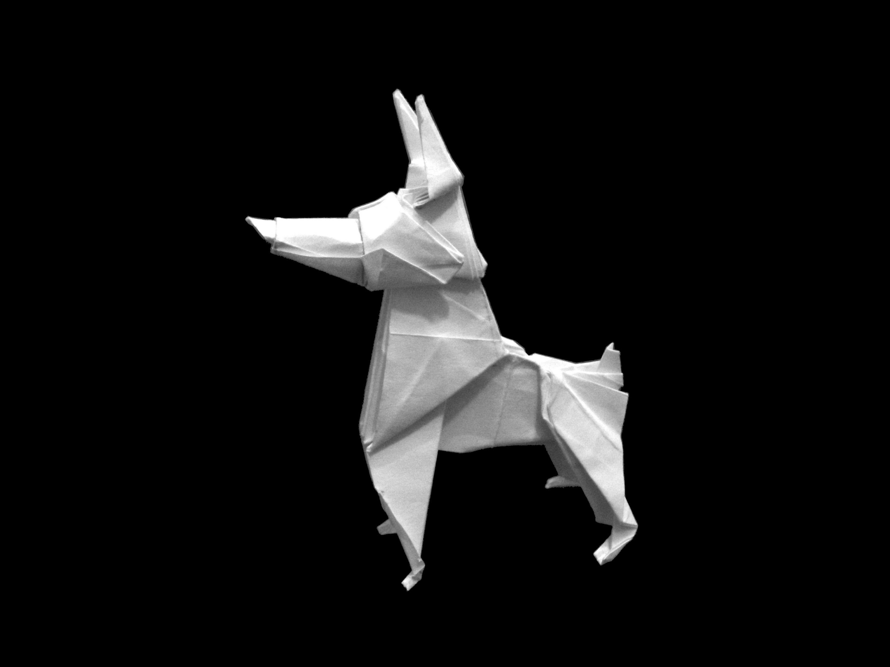How to make: Origami Dog (Ares Alanya)