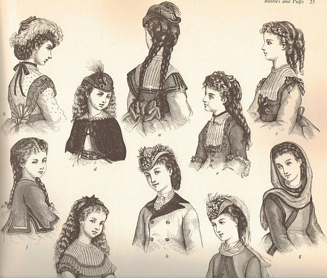 Mute the silence Victorian Hairstyles
