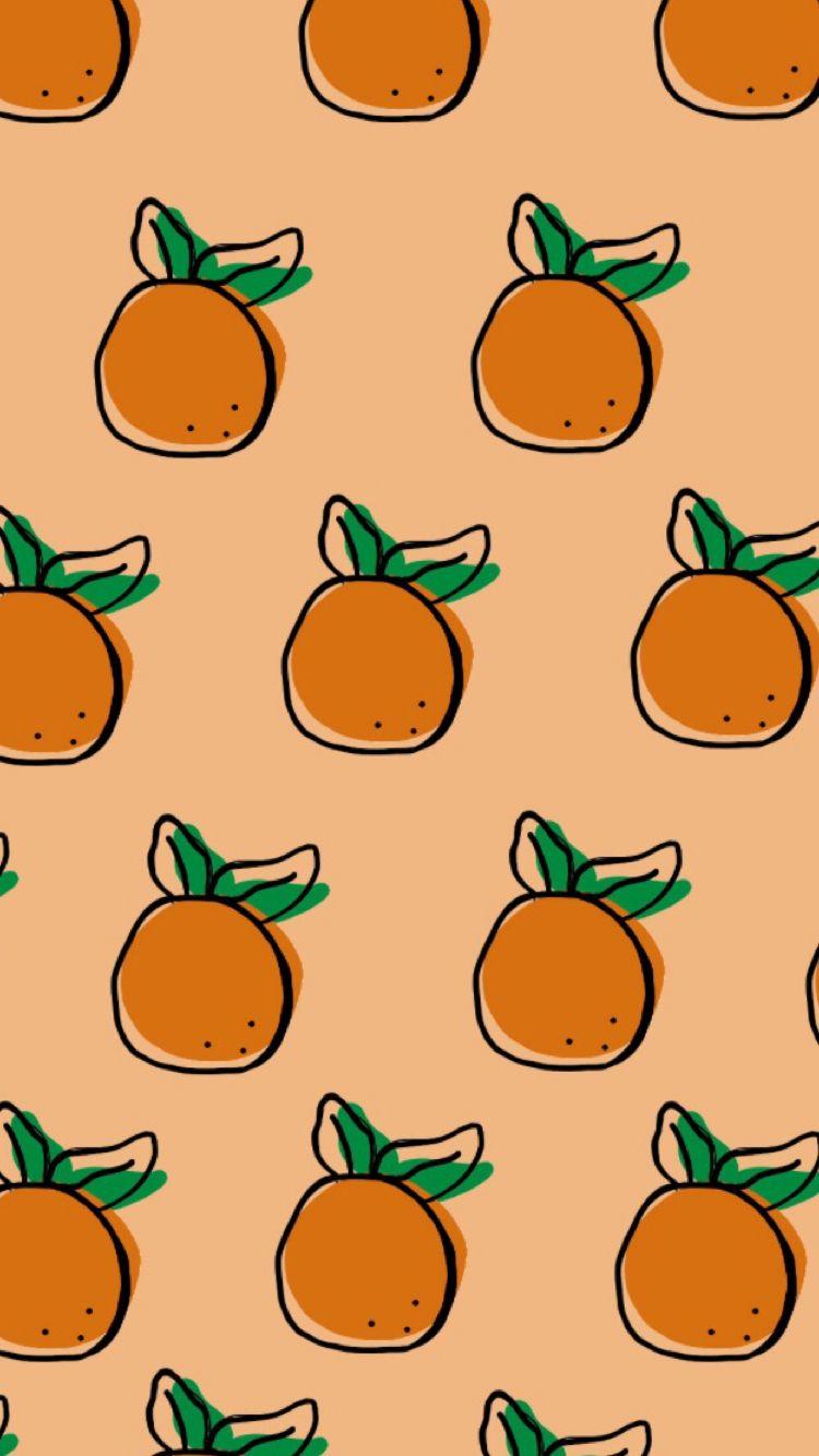 Orange Wallpaper Orange Wallpaper Fandom Drawing Orange Aesthetic