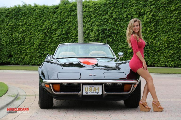 Girls and Muscle Cars