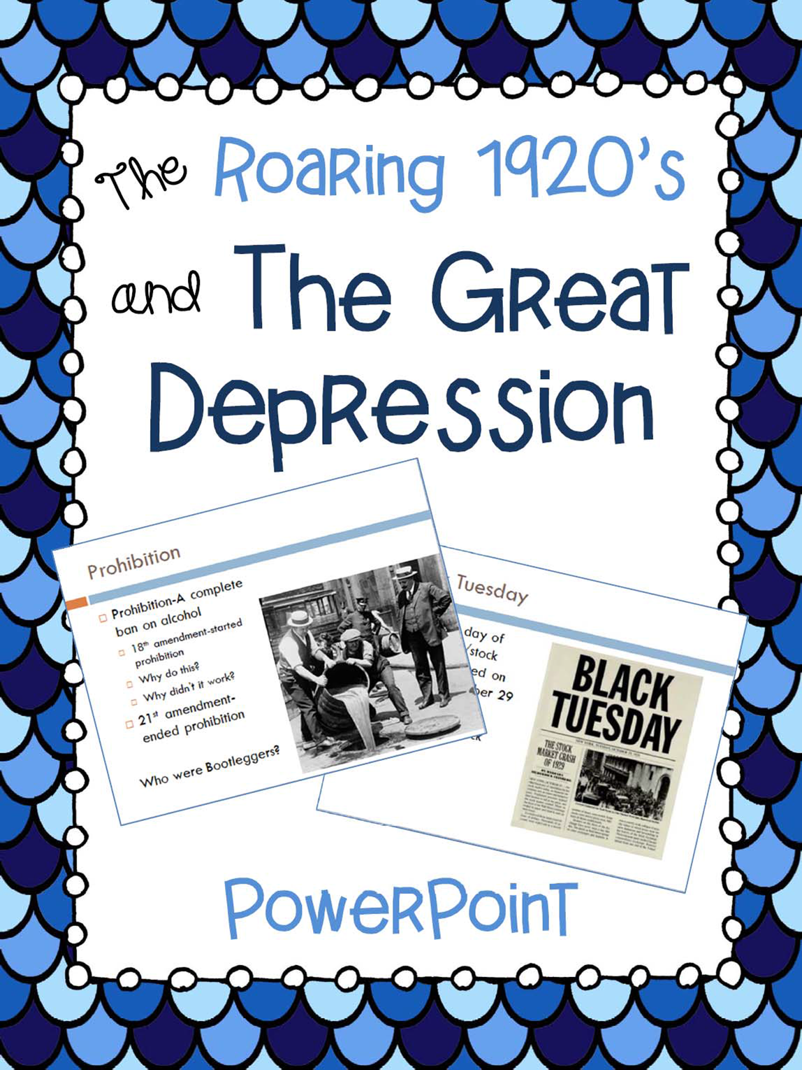 the roaring 1920 s and the great depression powerpoint presentation
