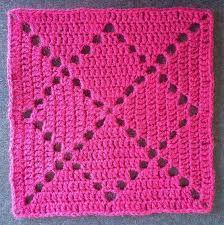 Resultado de imagem para esquema de quadrado em croche