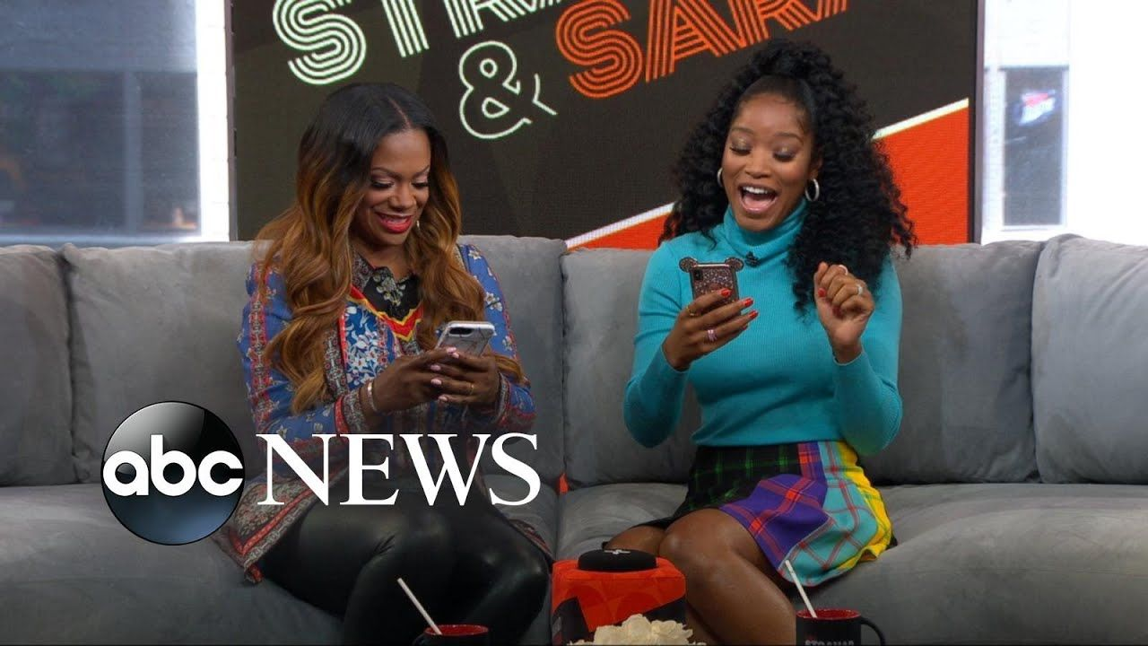 Keke And Kandi Burruss Try The Pattern Kandi Burruss Kandi