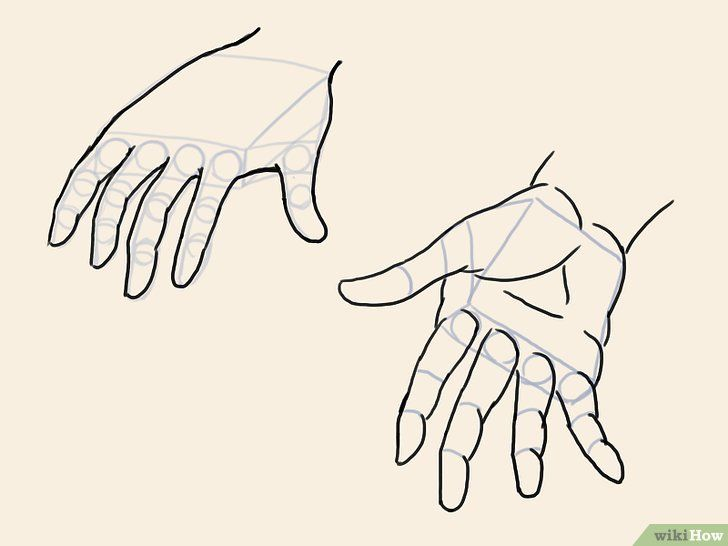 Cara Menggambar Tangan Anime Menggambar Tangan Cara Menggambar Gambar