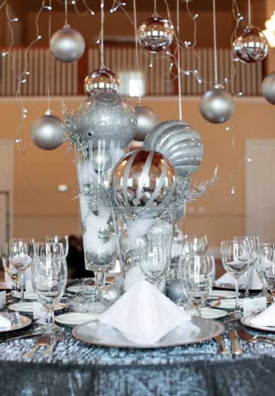 Holiday party ideas christmas table inspiration