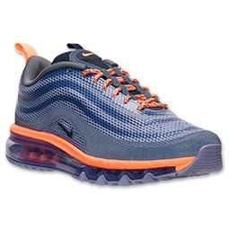 wholesale dealer 1e4d6 fa710 Men s Nike Air Max 97 2013 Hyp Running Shoes   Finish Line   Iron  Purple Dark Obsidian Atomic Orange