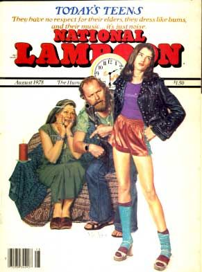 NATIONAL LAMPOON LOT OF 16 ISSUES 1976-78 parody satire humor