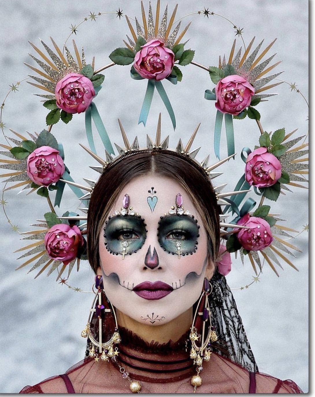 Mercado Halloween Events 2020 Pin by Norelys Mercado on CATRINAS in 2020 | Sugar skull costume