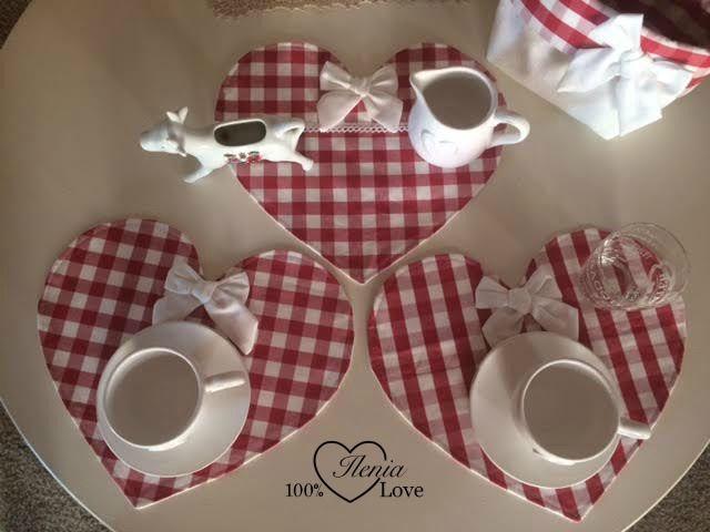 100%LOVE: Centrini a cuore | katy | Pinterest | Centrini, Cuore e Cucito
