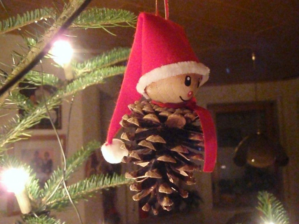 weihnachtsschmuck selber basteln für kinder