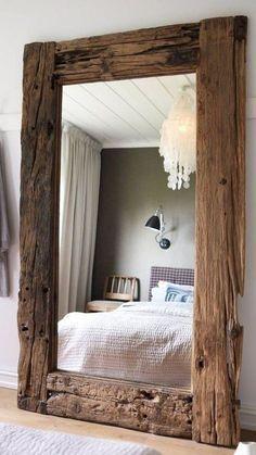 Photo of Afval houten spiegel Afval houten spiegel