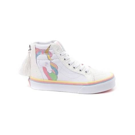 6728e807a2 Youth Tween Vans Sk8 Hi Unicorn Skate Shoe