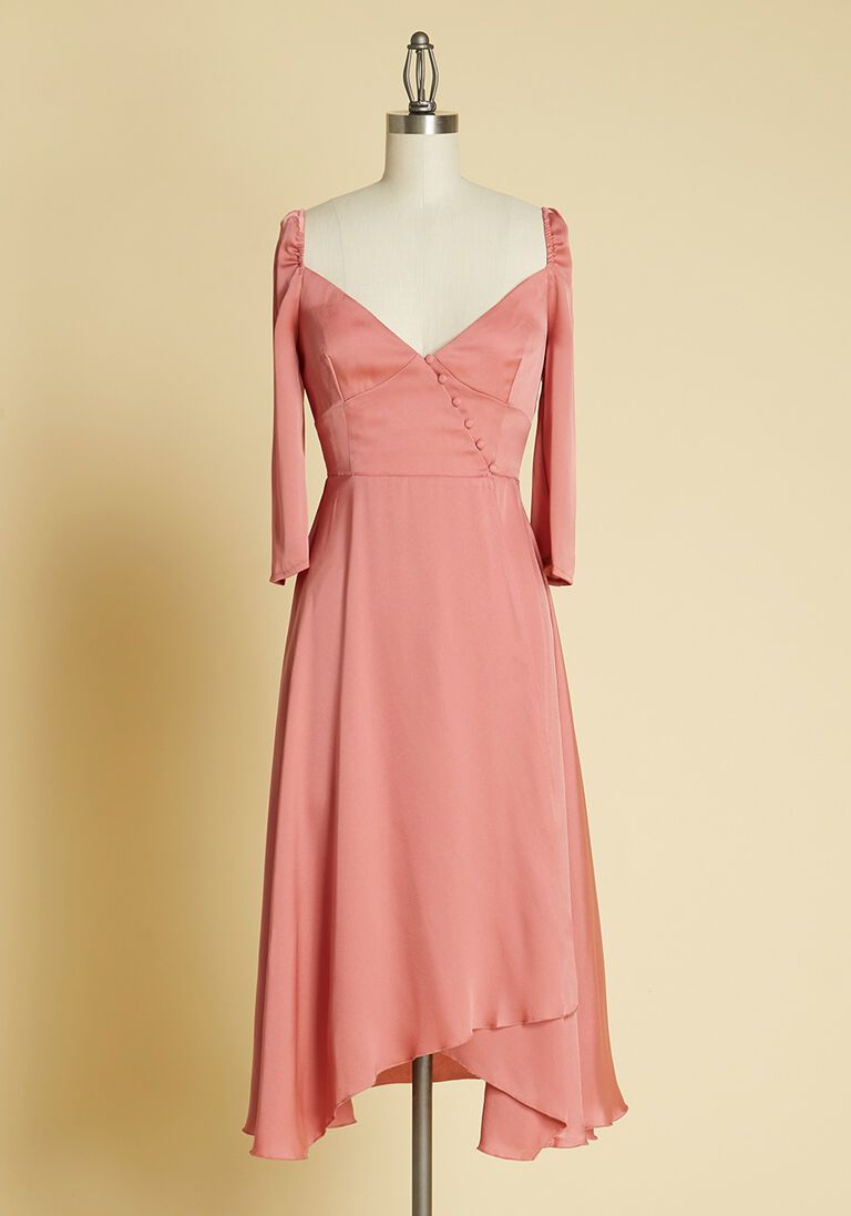 Satin Sweetheart Midi Dress In 8 Uk Womens Special Occasion Dresses Dresses Special Occasion Dresses [ 1097 x 768 Pixel ]