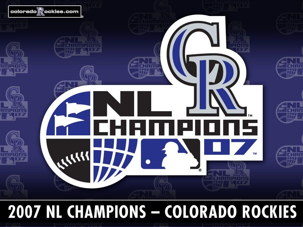 Colorado Rockies 2007 Champs Colorado rockies, Baseball