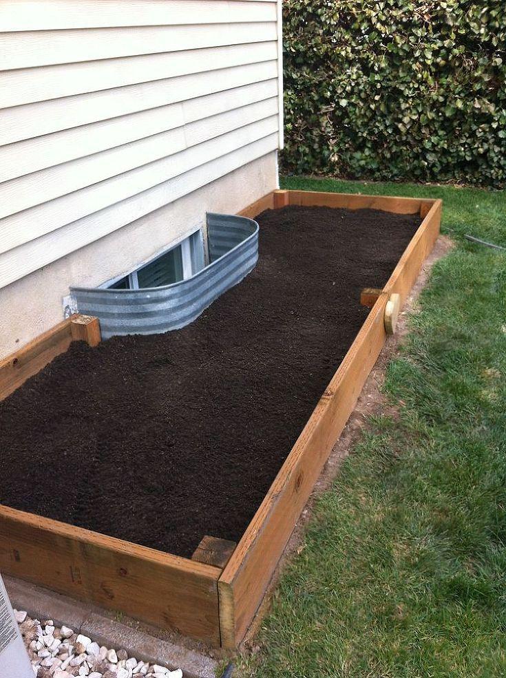 Diy Garden Box For A Small Yard Tutorial Garden Boxes Diy Small