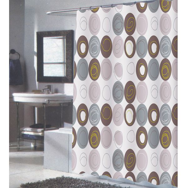 brown fabric shower curtains. Grey And Brown Shower Curtain Fabric Curtains