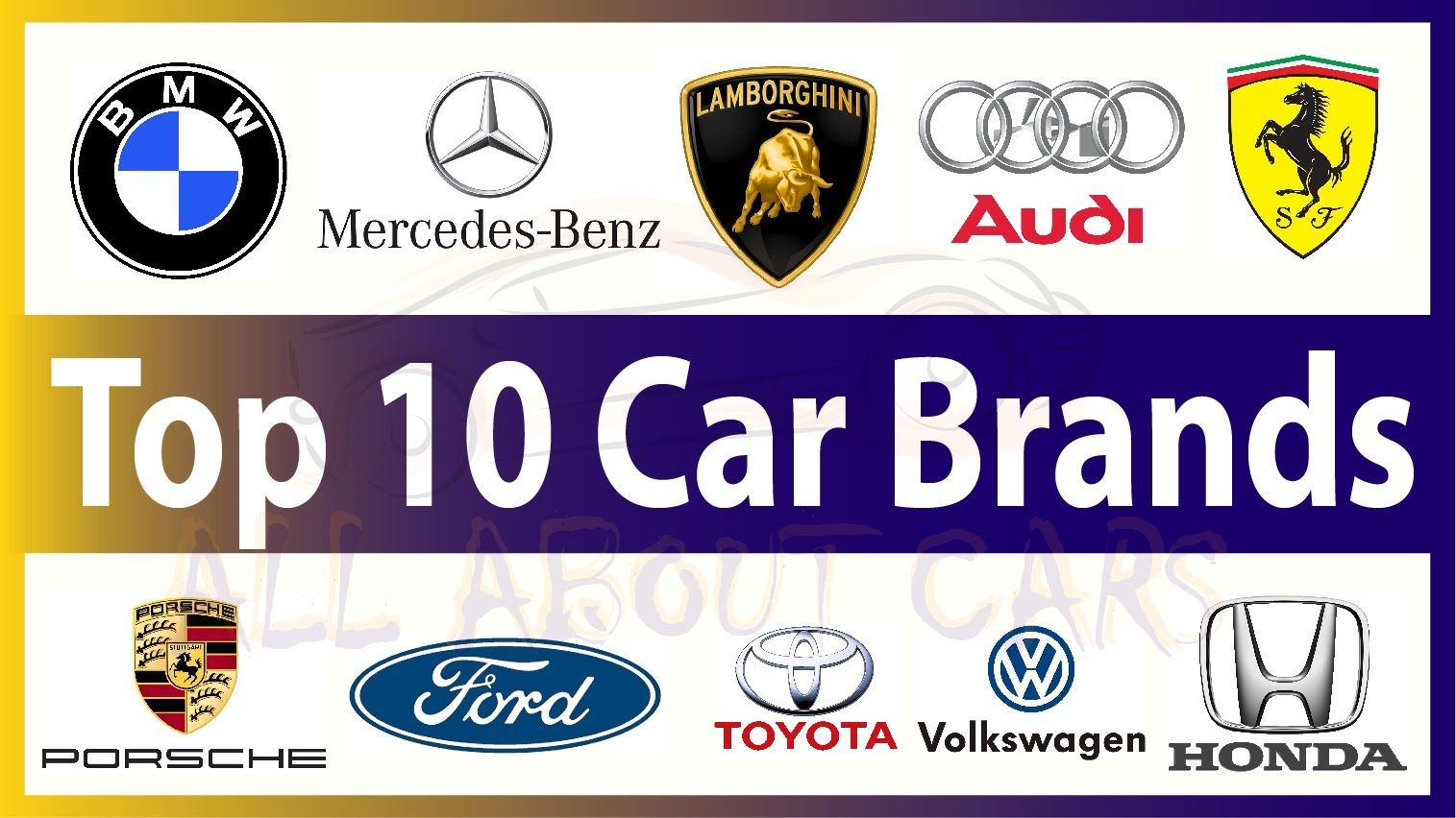 Top 10 Cars Brands In The World New Cars 2016 Top 10 Cars Brands
