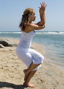 Garudasana – Eagle Pose – How to! | Eagle pose, Hip ...