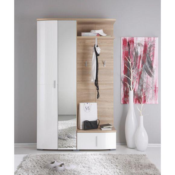 Wandgarderobe von xora stilvoll hochwertig for Garderobe xora