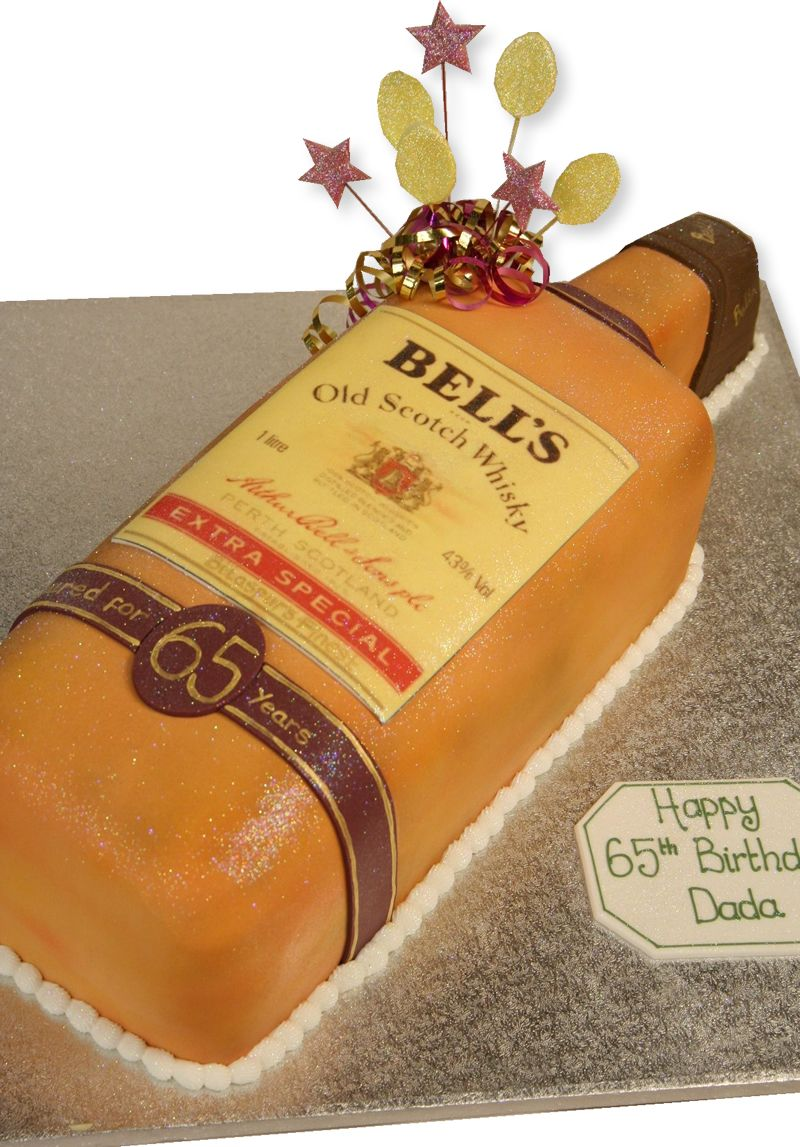 Scotch Whisky Bottle Cake By The Cake Store Creative Cakes
