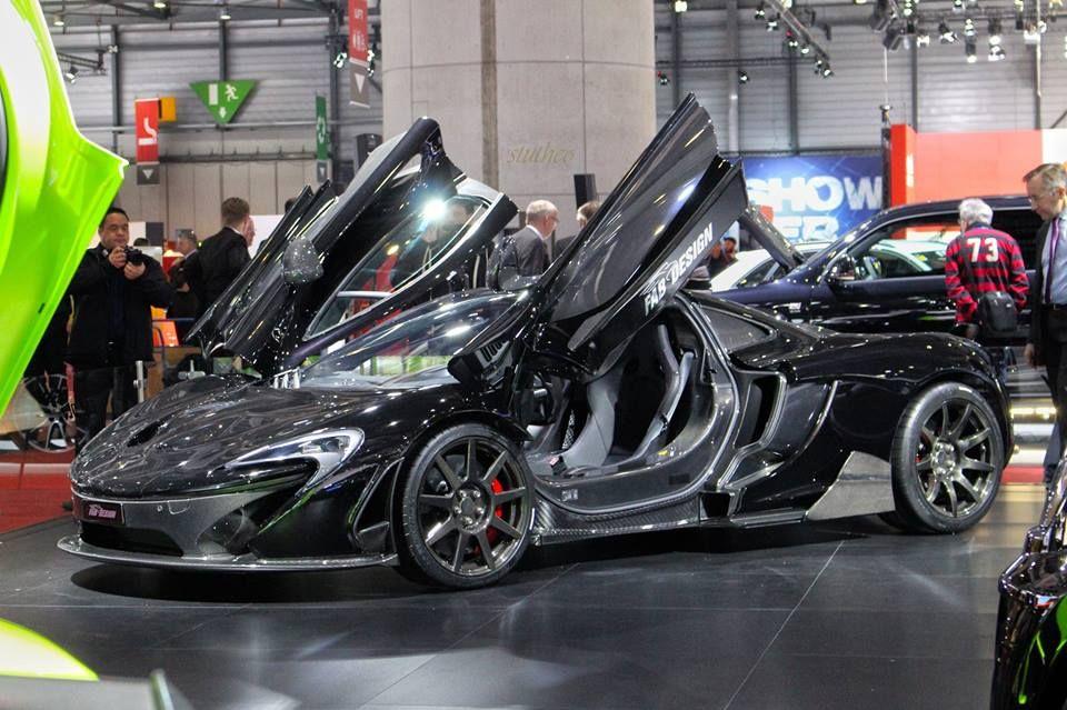 Carbon Revolution CR9 Equipped Fab Design McLaren P1. #geneva
