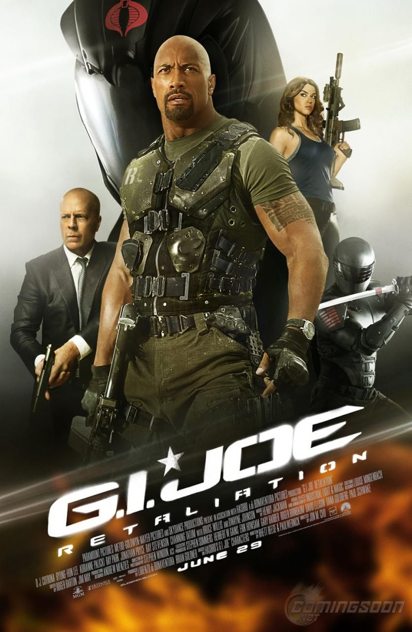 The Final Poster For G I Joe Retaliation Posteres De Filmes