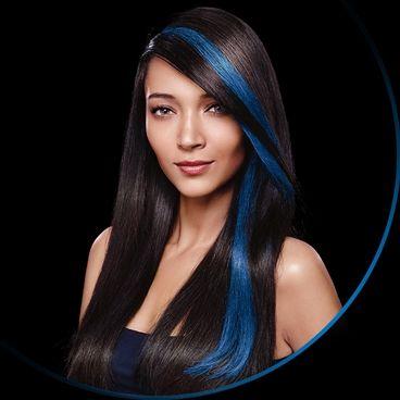 Cost Of Blue Streak In Hair Google Search Hair Color Streaks Hair Streaks Purple Hair Streaks