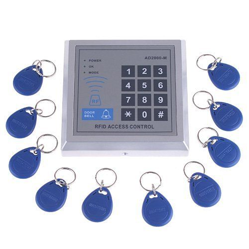 RFID Proximity Door Entry Access Control System + 10 Key
