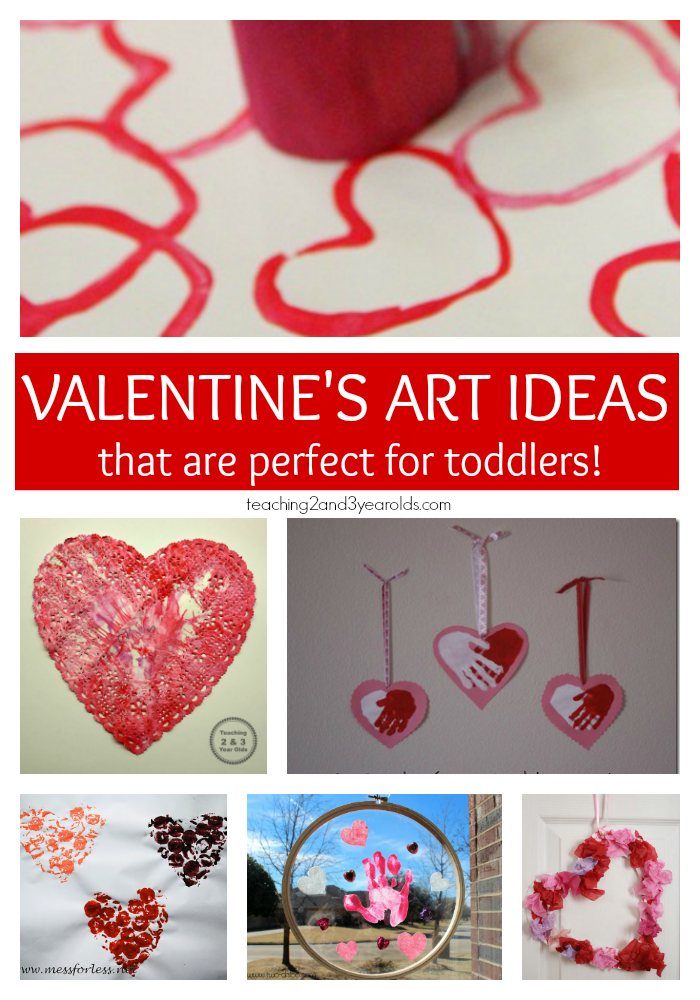 The Best Collection Of Toddler Valentine Crafts Shapes