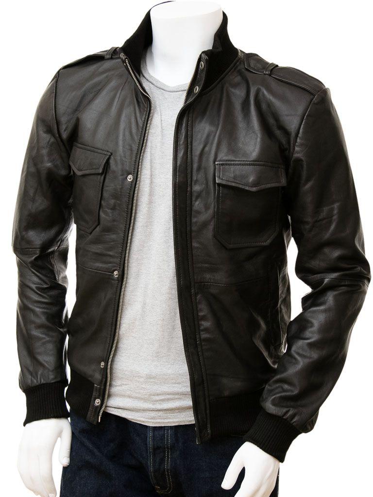 Men S Black Leather Bomber Jacket Belgrade Brown Leather Bomber Jackets Men Fashion Stylish Leather Jacket Leather Jacket Men [ 1024 x 768 Pixel ]