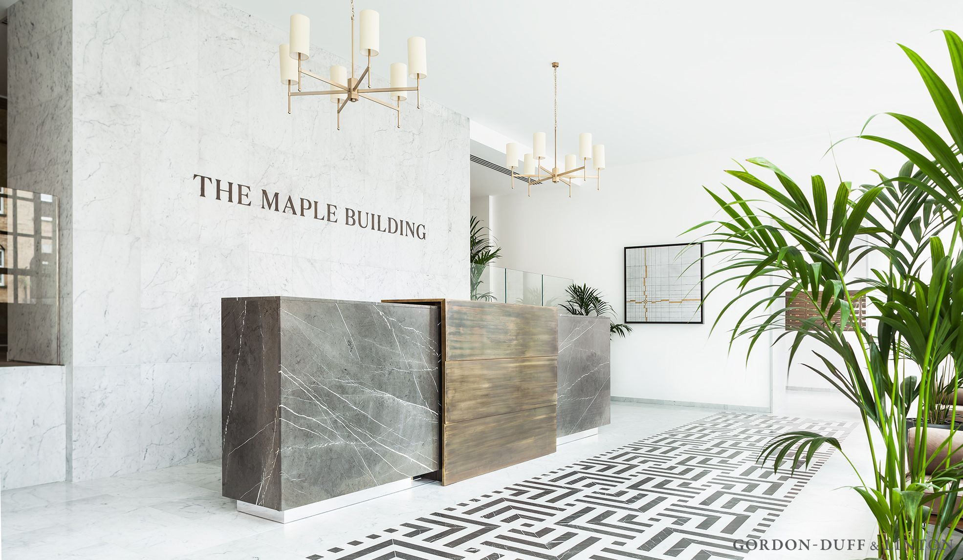 The Maple Reception – Gordon Duff & Linton