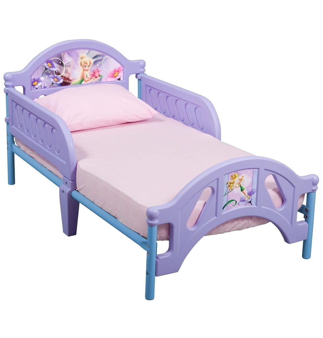 delta children disney fairies tinkerbell toddler bed | beds