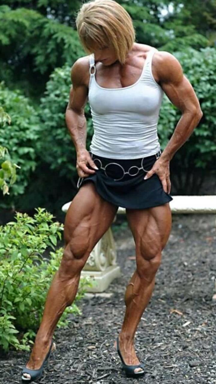 Female bodybuilder lover