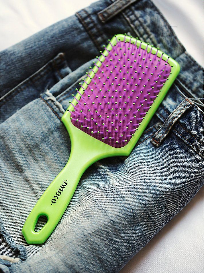 Swissco Oil Infused Paddle Brush at Free People Clothing Boutique