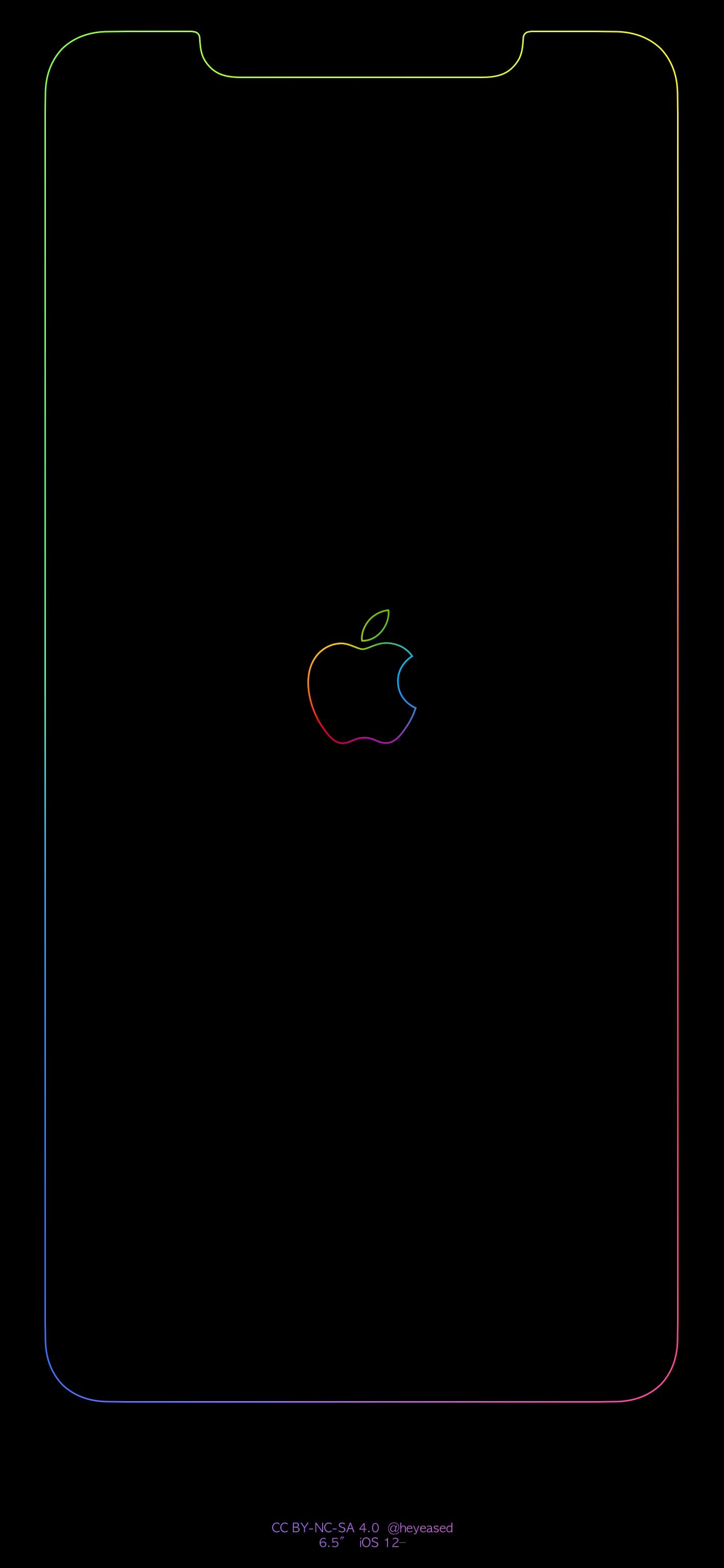Xs Max Rainbow Border Amp Apple Logohttps I Redd It Wndfr0bj16w11 Png Apple Logo Wallpaper Iphone Apple Iphone Wallpaper Hd Iphone Wallpaper Ios