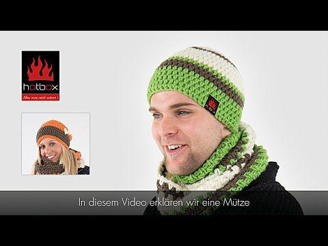 Häkeln Mütze 56 60cm L Männer Youtube Mützen Pinterest