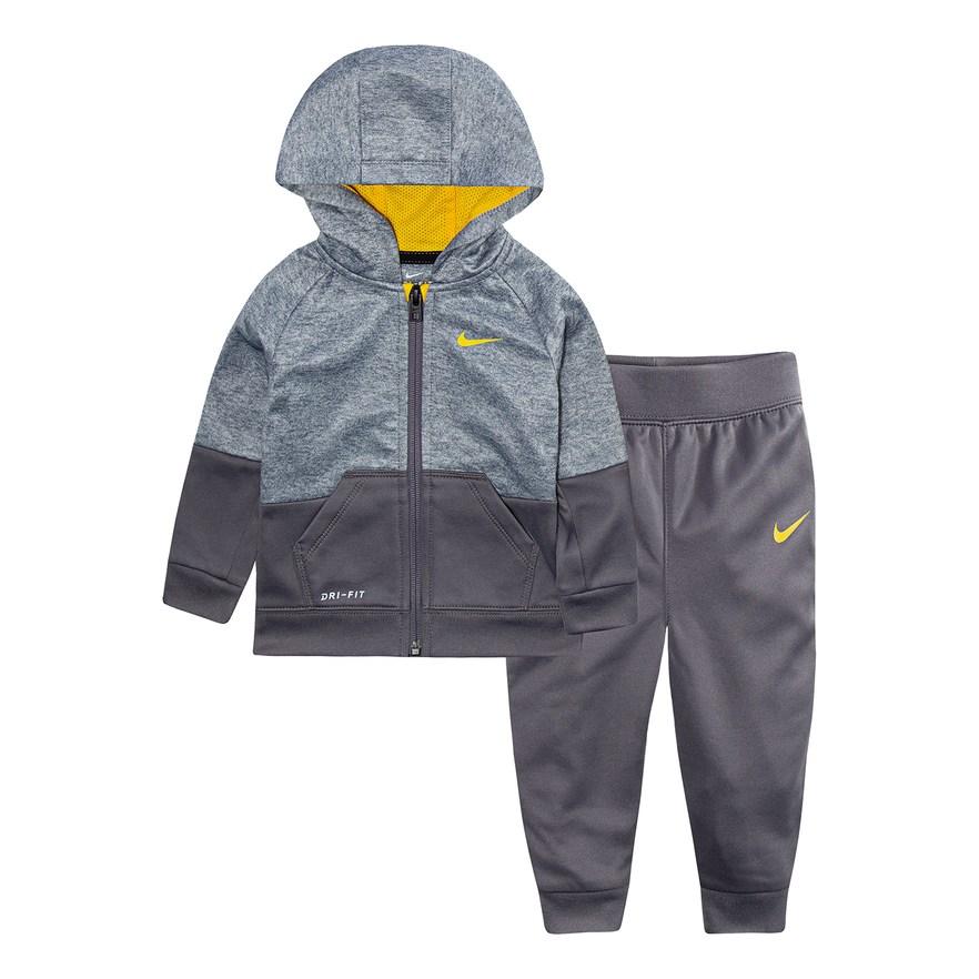 982883ff6 Baby Boy Nike Colorblock Zip Hoodie & Jogger Pants Set in 2019 ...