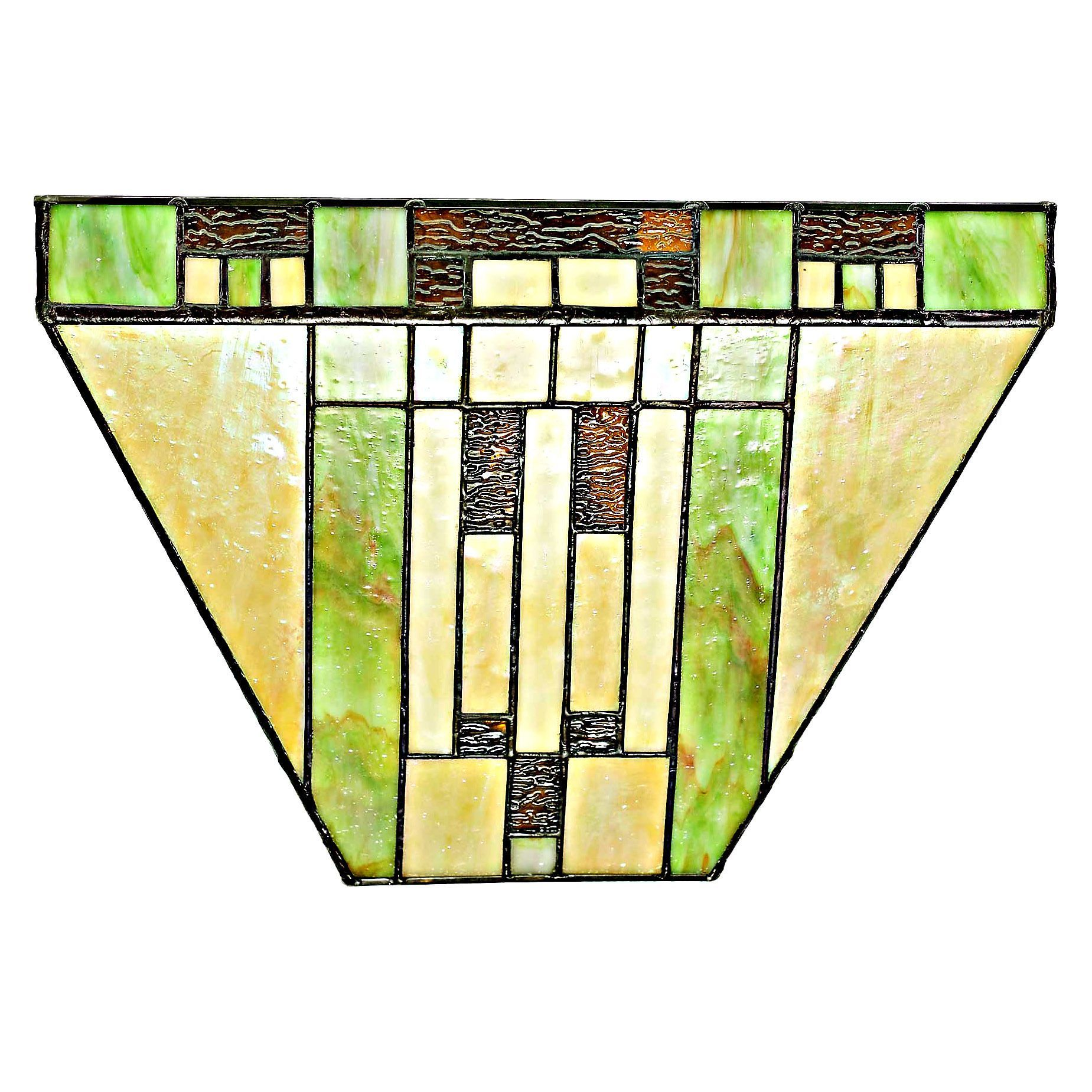 River of Goods Mission Stained-glass 8.5-inch High Tiffany-style LED ...