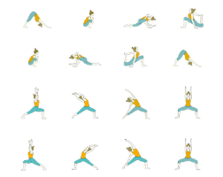 qa what's a typical power yoga sequence  yoga